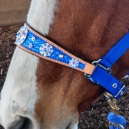 Custom Mega Bling Halter ~ Choose your colors!