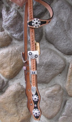 Mega Bling One Ear Headstall